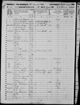 1850 US Census - Otto, Cattaraugus County, New York - Family of Kelsey and Sophia Ballard - Page 1 of 2