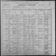 1900 US census - Scambler Township, Otter Tail County, Minnesota - Family of Frederick V. and Perl King - Also Charles H. and Rose Tucker