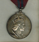 Silver Medal awarded to E. O. Wurm