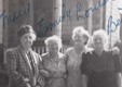 Sisters Mary, Emily, Louise and Bertha Wurm - June 1947