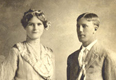 Alfred 'Freddie' William Peterson 1885-1957 and wife Clara Marie Formo 1896-1999